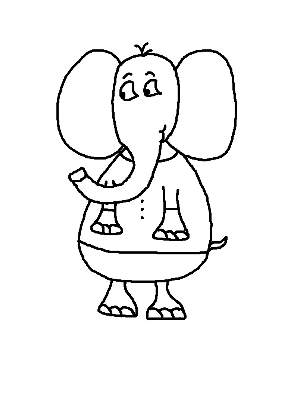 elephant coloring pages virtren com