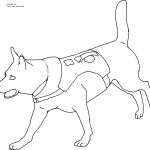 Images of Free Dog Coloring Pages