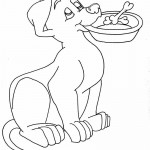 Picture of Free Dog Coloring Pages