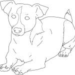 Pictures of Free Dog Coloring Pages