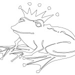 Frog Coloring Page Picture