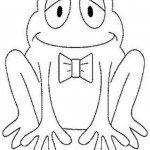 Frog Coloring Pages Picture