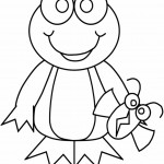 Frog Coloring Pages Pictures