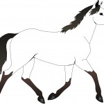 Images of Horse Coloring Page