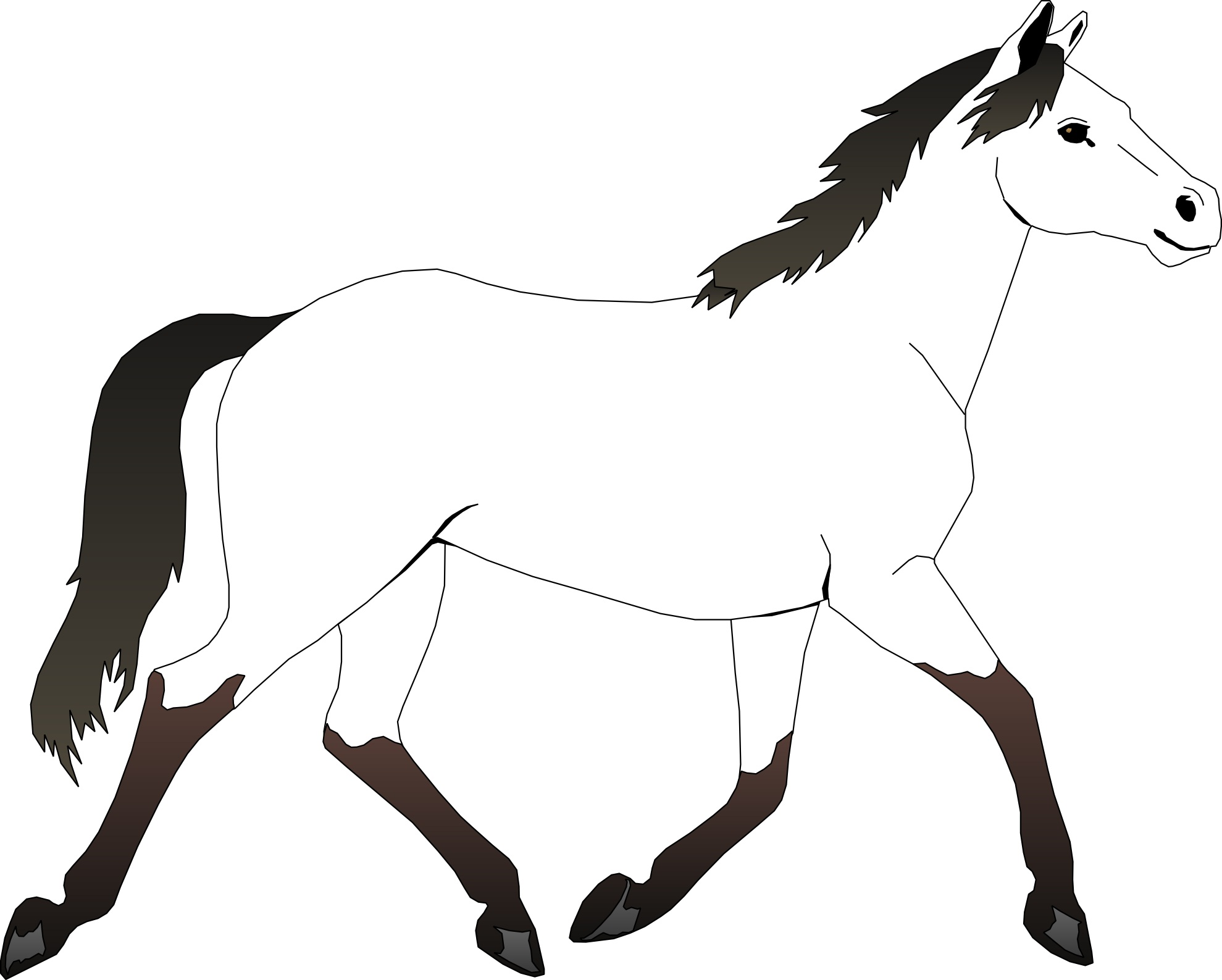 coloring pages to print horse