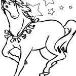 Picture of Horse Coloring Page