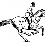 Pictures of Horse Coloring Page