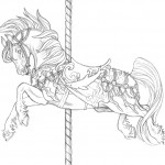 Images of Horses Coloring Pages