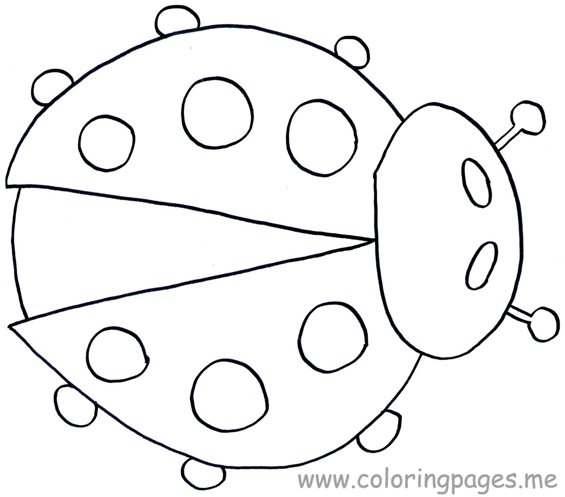 Free Printable Ladybug Coloring Pages For Kids Animal Place