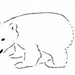 Polar Bear Coloring Page Photos