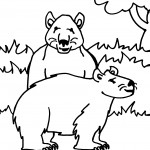 Polar Bear Coloring Page Pictures