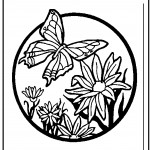 Photos of Printable Butterfly Coloring Pages