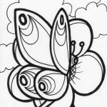 Pictures of Printable Butterfly Coloring Pages