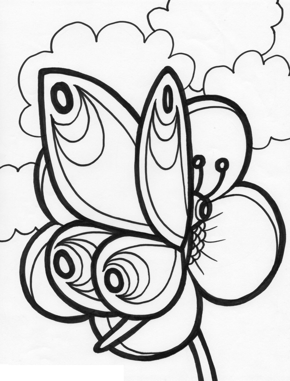 emejing printable butterfly coloring pages gallery printable