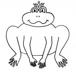 Printable Frog Coloring Pages Photos