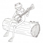 Printable Frog Coloring Pages Pictures