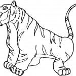 Tiger Coloring Page Pictures