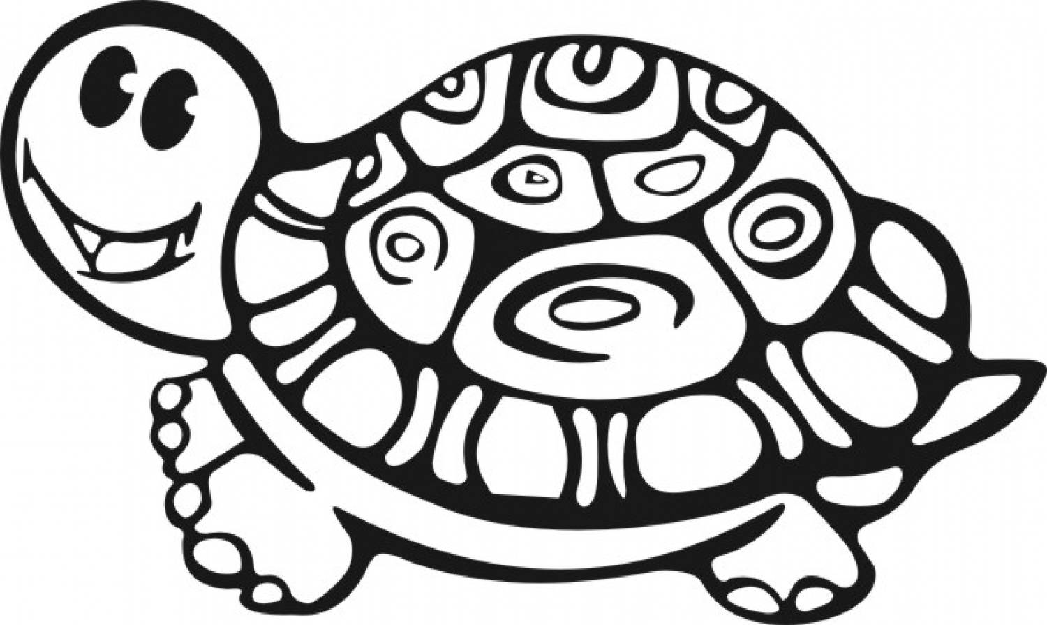 coloring page of a book - free printable turtle coloring pages for kids animal place