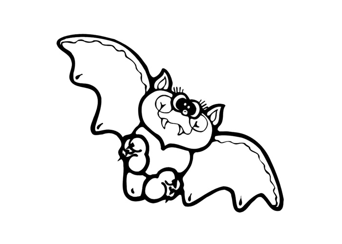 how to draw a baby bat