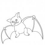 Bat Coloring Page Images