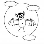 Bat Coloring Pages Picture