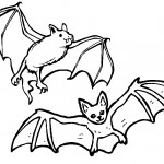 Bats Coloring Pages for Kids