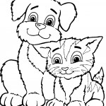 Cat Coloring Pages Photos