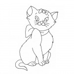 Cat Coloring Pages Picture
