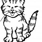 Cat Coloring Pages for Kids Images