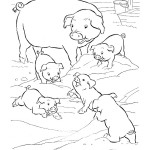 Coloring Page Pigs