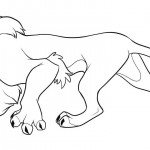 Coloring Page of Lion Pictures