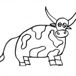 Coloring Pages Cow Pictures
