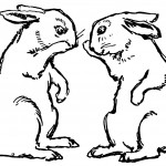 Coloring Pages Rabbit Image