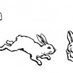 Coloring Pages Rabbits Picture