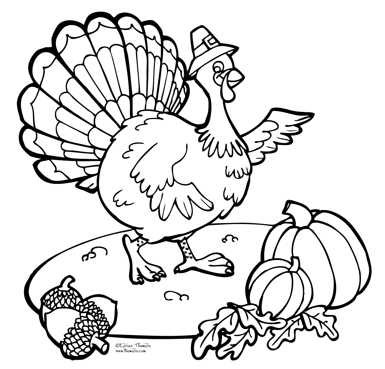 Free Thanksgiving Coloring Pages for Kids | Free thanksgiving coloring pages,  Fall coloring pages, Turkey coloring pages | 1212x1266