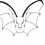 Coloring Pages of Bat Pictures