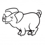 Coloring Pages of Pig Images