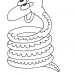 Coloring Pages of Snake Pictures