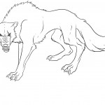 Coloring Pages of Wolf Photos