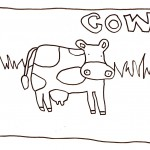 Cow Coloring Pages Pictures