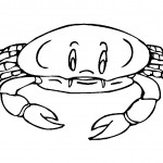Crab Coloring Page Photos