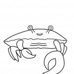 Crab Coloring Pages Photos