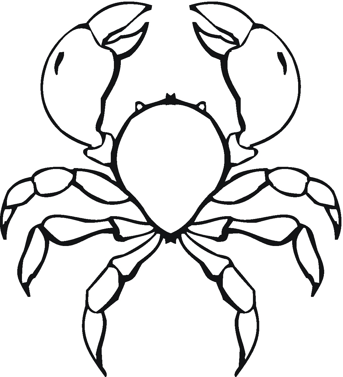 Free Printable Crab Coloring Pages For Kids | Animal Place