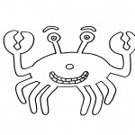 Crab Coloring Pages for Kids Photos