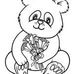 Cute Panda Coloring Pages Pictures