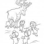 Deer Coloring Pages for Kids