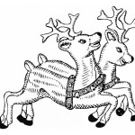 Deer Coloring Pages for Kids Images
