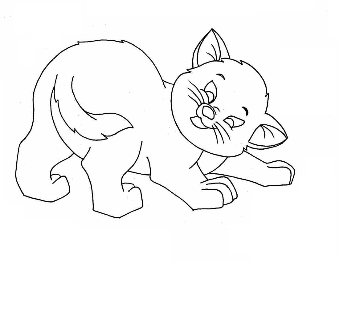 kitty kat coloring pages - photo#9