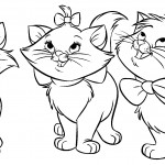Kitty Cats Coloring Pages