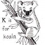 Koala Coloring Pages for Kids